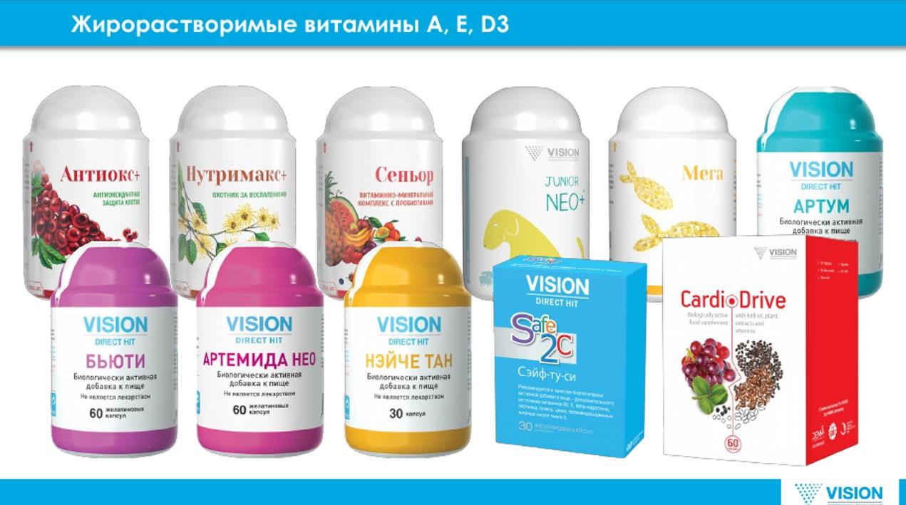 БАДЫ для сердца на visionmarket24.ru